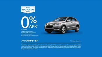 Honda Zero Percent Event TV Spot, 'Act Fast' [T2] - Thumbnail 9