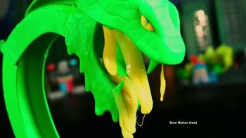 Hot Wheels City Toxic Snake Strike Challenge TV Spot, 'Top Speed Snake Take Down'