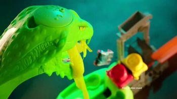 Hot Wheels City Toxic Snake Strike Challenge TV Spot, 'Top Speed Snake Take Down' - Thumbnail 6