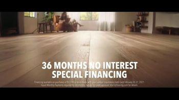 LL Flooring TV Spot, 'Bellawood Oak Floors: 36 Months Financing' Song by Electric Banana - Thumbnail 4