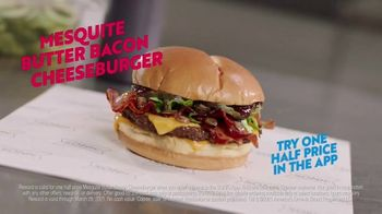 Sonic Drive-In Mesquite Butter Bacon Cheeseburger TV Spot, 'Warn People' - Thumbnail 9
