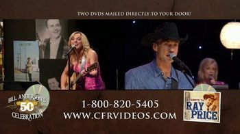 CFR Double Disk A Month Club TV Spot, 'Membership: Bill Anderson's 50th and Ray Price Tribute' - 8 commercial airings