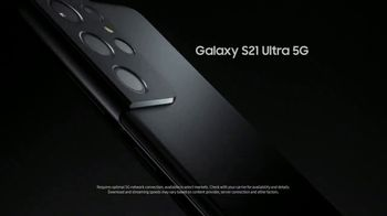Samsung Galaxy S21 Ultra 5G TV Spot, 'Trade In: Save Up to $700 - Thumbnail 8