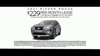 2021 Nissan Rogue TV Spot, 'Put It in Chill Mode' Song by Percy Faith [T2] - Thumbnail 7