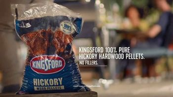 Kingsford Hickory Hardwood Pellets TV Spot, '100% Pure' - Thumbnail 8