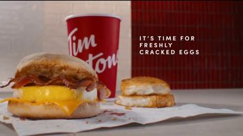 Tim Hortons TV Spot, \'Fresh Cracked Egg\'