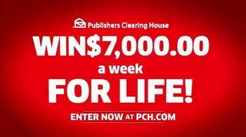 Publishers Clearing House TV Spot, 'Helping Change Lives: $7,000 a Week' Featuring Brad Paisley - Thumbnail 10