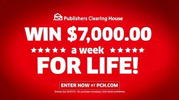 Publishers Clearing House TV Spot, 'Helping Change Lives: $7,000 a Week' Featuring Brad Paisley - Thumbnail 8