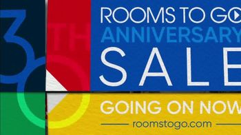 Rooms to Go 30th Anniversary Sale TV Spot, 'You're Invited: Natalia Living Room Set' Song by Junior Senior - Thumbnail 9