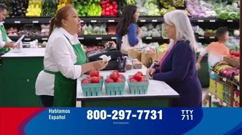 MedicareAdvantage.com TV Spot, \'Supermercado\' [Spanish]