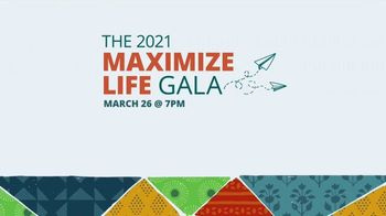 The Max Foundation TV Spot, '2021 Maximize Life Gala' - Thumbnail 9