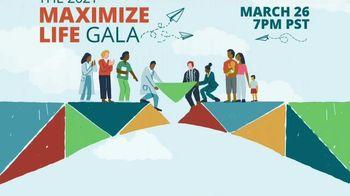 The Max Foundation TV Spot, '2021 Maximize Life Gala' - Thumbnail 3