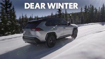 Toyota TV Spot, 'Dear Winter: Bundle Up' [T1]