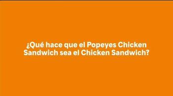 Popeyes Chicken Sandwich TV Spot, 'El sándwich' [Spanish] - Thumbnail 1