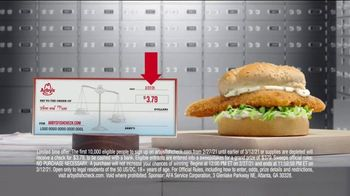 Arby's Crispy Fish Sandwich TV Spot, 'Fish Check: Apply Now' - Thumbnail 6