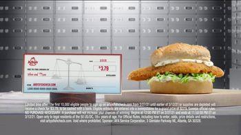 Arby's Crispy Fish Sandwich TV Spot, 'Fish Check: Apply Now' - Thumbnail 7