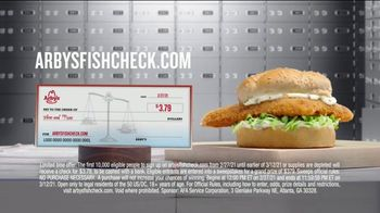 Arby's Crispy Fish Sandwich TV Spot, 'Fish Check: Apply Now' - Thumbnail 8