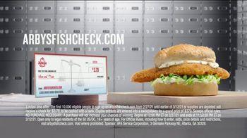 Arby's Crispy Fish Sandwich TV Spot, 'Fish Check: Apply Now' - Thumbnail 9