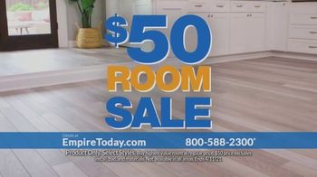 Empire Today $50 Room Sale TV Spot, 'Buy One, Get One: No Limit'