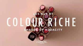 L'Oreal Paris Cosmetics Les Nus TV Spot, 'Audacity' - Thumbnail 7