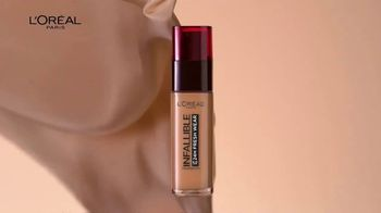 L'Oreal Paris Cosmetics Infallible Fresh Wear TV Spot, 'Lightweight' - Thumbnail 5