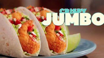 Del Taco Jumbo Shrimp Tacos TV Spot, 'Two for $5'