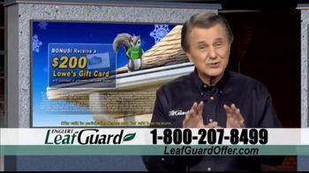 LeafGuard Winter Blowout Sale TV Spot, 'Mother Nature Never Takes a Day Off'