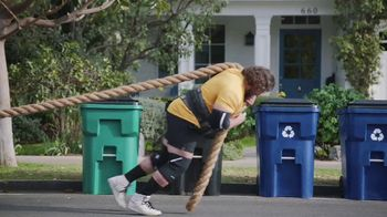GEICO TV Spot, 'Worlds Strongest Man Takes on the Recycling' Featuring Martins Licis - Thumbnail 7