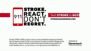 Genentech TV Spot, 'Signs of Stroke' - Thumbnail 6