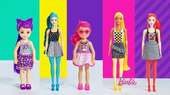 Barbie Color Reveal Color Block Series TV Spot, 'Fun Patterns' - Thumbnail 6