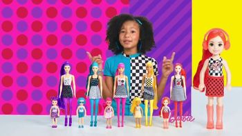 Barbie Color Reveal Color Block Series TV Spot, 'Fun Patterns' - Thumbnail 7
