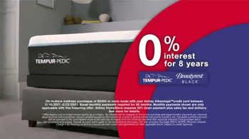 Ashley HomeStore Presidents Day Mattress Marathon TV Spot, 'Extended: 0% Interest and Ashley Cash' - Thumbnail 4