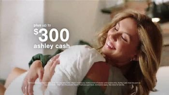 Ashley HomeStore Presidents Day Mattress Marathon TV Spot, 'Extended: 0% Interest and Ashley Cash' - Thumbnail 7