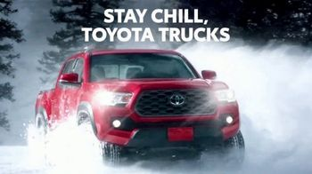 Toyota TV Spot, 'Dear Winter: Stay Chill' [T2] - 2 commercial airings