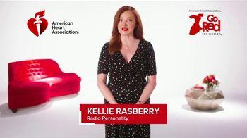 American Heart Association TV Spot, 'ABC 8 Dallas: 2021 Go Red Live'