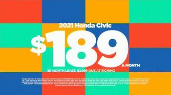 2021 Honda Civic TV Spot, 'Save Now: Civic' [T2] - Thumbnail 3
