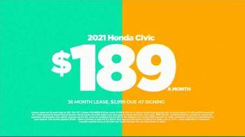 2021 Honda Civic TV Spot, 'Save Now: Civic' [T2] - Thumbnail 6