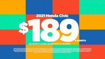 2021 Honda Civic TV Spot, 'Save Now: Civic' [T2] - Thumbnail 7
