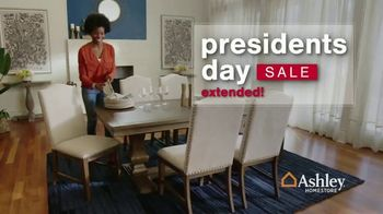 Ashley HomeStore Presidents Day Sale TV Spot, 'Extended: 50% Off Hot Buys' - Thumbnail 2