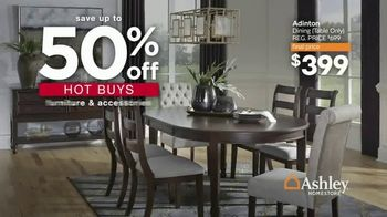 Ashley HomeStore Presidents Day Sale TV Spot, 'Extended: 50% Off Hot Buys' - Thumbnail 3