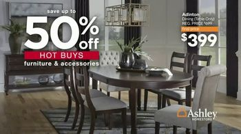 Ashley HomeStore Presidents Day Sale TV Spot, 'Extended: 50% Off Hot Buys' - Thumbnail 4