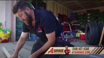 A1 Garage Door Service Garage Door Sale TV Spot, 'Upgrade: $200 Off + Meijer Gift Card'