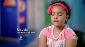 St. Jude Children's Research Hospital TV Spot, 'Mayela: camisa' [Spanish]