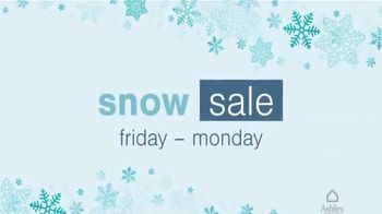Ashley HomeStore Snow Sale TV Spot, '30% Off First Item' - Thumbnail 2