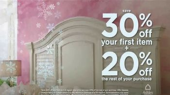 Ashley HomeStore Snow Sale TV Spot, '30% Off First Item' - Thumbnail 4
