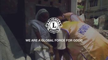 Lions Clubs International TV Spot, 'Join the Movement and Support Causes That Matter'