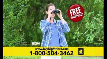 BulbHead Night Hero TV Spot, 'See Anything: $39.99' Featuring Hunter Ellis - Thumbnail 8
