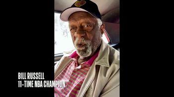 NBA Cares TV Spot, 'One Shot I Won't Block' Featuring Bill Russell - Thumbnail 2