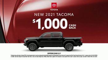 2021 Toyota Tacoma TV Spot, 'Dear Snowstorm' [T2] - Thumbnail 8