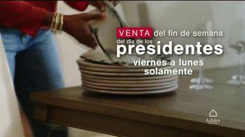 Ashley HomeStore Venta del Fin de Semana del Día de los Presidentes TV Spot, 'Ahorre 25%' [Spanish] - Thumbnail 1
